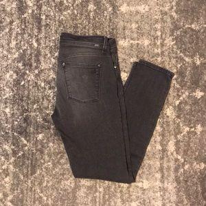 DL 1961 Gray Skinny Jeans